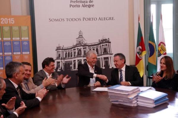 Prefeitura anunciou consórcio que vai realizar revitalização da orla do Guaíba | Foto: Ivo Gonçalves / PMPA / CP