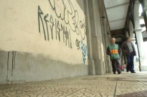 Projeto de lei da vereadora Mônica Leal (PP) reforça a punição a pichadores | Foto: Pedro Revillion / CP Memória