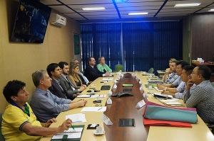 Projeto de instalação do empreendimento em Montenegro foi tratado na Secretaria de Desenvolvimento Econômico, Ciência e Tecnologia - Foto: Divulgação/Sdect