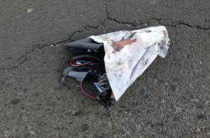 Gate explode artefato em viaduto de Porto Alegre | Foto: Álvaro Grohmann / Especial / CP