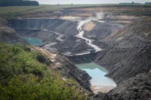 Na mina de São Vicente Norte, em Minas do Leão, o carvão é extraído pela CRM com destino a Santa Catarina | Foto: André Ávila