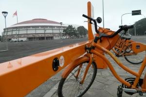 Valor diário do aluguel das bikes seguirá sendo R$ 5 e o mensal, R$ 10 Foto: Talles Campos / PMPA