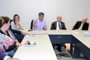 Encontro debateu alterações no plano diretor para construção do metrô Encontro debateu alterações no plano diretor para construção do metrô. Foto: Ocimar Pereira/Divulgação PMPA