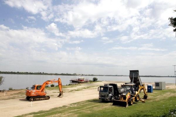 Serviços iniciais incluem terraplanagem e implantação do canteiro de obras Foto: Ivo Gonçalves/PMPA