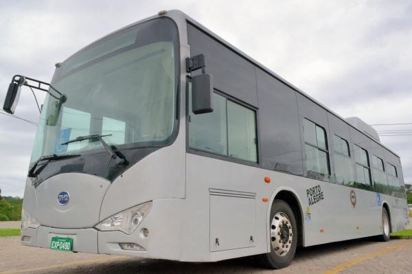 Carris apresentará veículo 100% elétrico que será testado na Capital Foto: Fernanda Leal/Divulgação PMPA