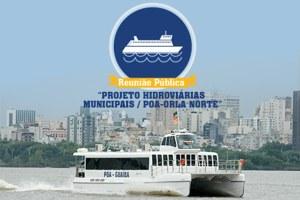 Projeto prevê a implantação de 11 estações na orla da Capital Foto: Divulgação/PMPA