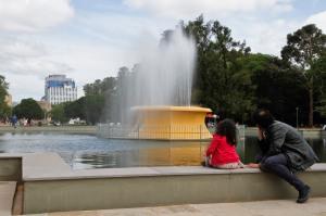 Porto Alegre, RS - 24/10/2015 Ato de entrega das obras de recuperação do eixo central do Parque Farroupilha (Redenção) Foto: Joel Vargas/PMPA