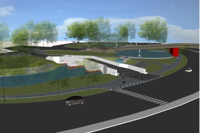 Projeto terá passeios com acessibilidade e conformação de caminhos internos Foto: Divulgação/PMPA