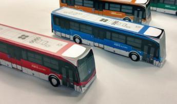 Novo design nos ônibus estará nas ruas a partir de quando o contrato vigorar | Foto: José Fortunati / Twitter / Divulgação