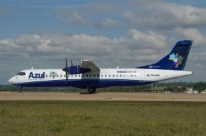 Aval depende, também, de que o aeroporto esteja adequado até a data prevista | Foto: Azul / Divulgação / CP Memória