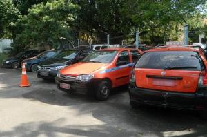 Veículos recolhidos em ações de fiscalização estão no pátio da EPTC Foto: Cinthya Py/Divulgação PMPA