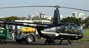 Proposta altera artigo da lei que veda helipontos em alguns locais da cidade. Foto: Tonico Alvares