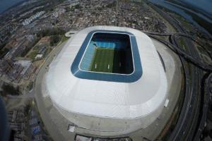 Arena do Grêmio pertence agora ao bairro Farrapos | Foto: Drone Service Brasil / Divulgação / CP