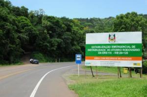Não há data para reiniciar os trabalhos nos 22 quilômetros que faltam   Foto: Fernanda Bessôa / Especial / CP