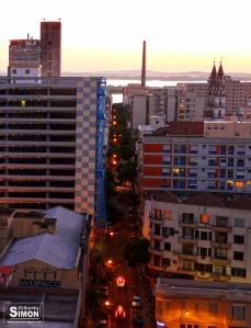 Rua Riachuelo. Foto: Gilberto Simon