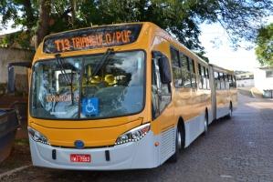 Entra em operação quatro novas linhas de ônibus na Capital Na foto: T13 – Triângulo/Puc Foto: João Paulo Magalhaes/Divulgação PMPA