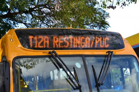 Quatro novas linhas de ônibus entrarão em operação na Capital Foto: João Paulo Magalhaes/Divulgação PMPA