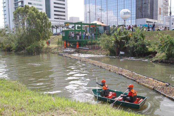 Nova estrutura deve colaborar na despoluição das águas do lago Foto: Lucinoa Lanes / PMPA