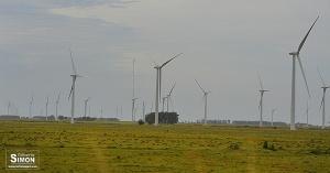 Parque Eólico Geribatu, que integra o maior complexo eólico da América Latina. Foto: Gilberto Simon