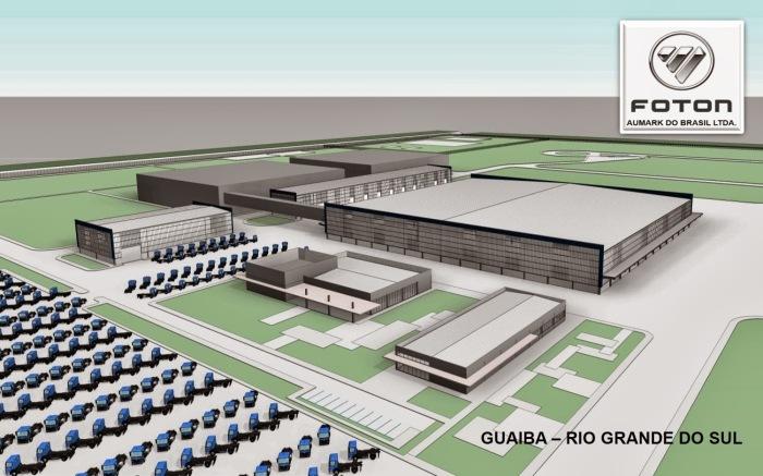 Projeto fábrica Guaíba Foton Aumark 2