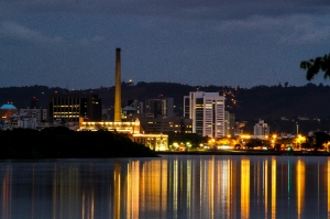 Porto Alegre, RS - 19/02/2015 Nebulosidade predominante em Porto Alegre Foto: Joel Vargas/PMPA