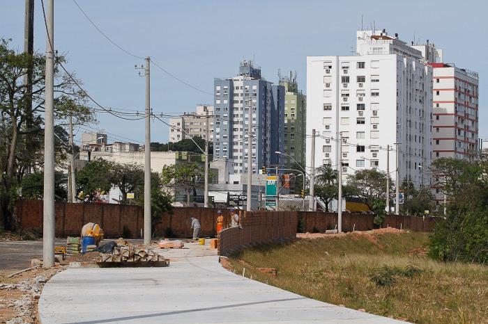Equipe apresentou o desenvolvimento das etapas envolvendo habitação e obraFoto: Luci ano Lanes / PMPA