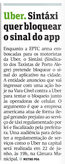uber-sinal