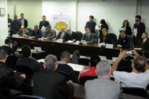 Audiência pública discute privatização do Aeroporto Salgado Filho | Foto: Samuel Maciel