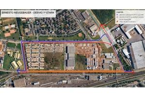 Projeto prevê uma nova pavimentação nos 2.680 metros da via Foto: Divulgação/PMPA