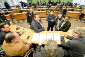 Vereador Cláudio Janta (Centro) entrou com mais um pedido de vistas sobre projeto que regulamenta Uber em Porto Alegre | Foto: Guilherme Almeida/CMPA/CP