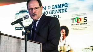 Governador José Ivo Sartori falou sobre o agravamento da violência durante a abertura da Expointer. (Foto: Jackson Ciceri/ O Sul)