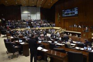 Plenário votou a favor do projeto da permuta do imóvel do FDRH para construção de unidade prisional | Foto: Marcelo Bertani / Agência ALRS / CP