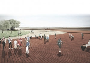 Projeto foi concebido pelols arquitetos Carla Nunes Kaiser, Jorge Luís Stocker Jr., Luane Henrich e Karen Kussler