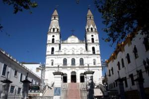 Primeiro espetáculo será projetado na fachada da Igreja Nossa Senhora das Dores Foto: Ivo Gonçalves / PMPA