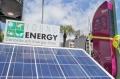 Esta é a primeira estação carregada com luz solar no Brasil Foto: Joel Vargas/PMPA