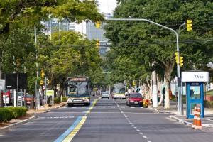 EPTC atribui resultado à priorização aos corredores e faixas exclusivas de ônibus Foto: Joel Vargas/PMPA