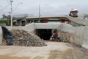 Nova estrutura na entrada da cidade está com 92% da construção concluída Foto: Brayan Martins/ PMPA