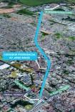 Corredor terá 4,2 quilômetros de extensão  Foto: Divulgação/ PMPA