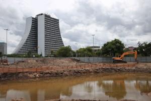 Ponte de Pedras é um dos locais que está com obras em andamento em Porto Alegre | Foto: Joel Vargas / PMPA / CP
