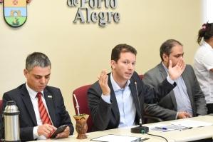 Prefeito eleito lembrou que déficit nas contas é elevado (Foto: Tonico Alvares/CMPA)