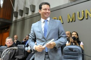 Em discurso a vereadores, Marchezan pede apoio para mudanças em Porto Alegre | Foto: Mauro Schaefer