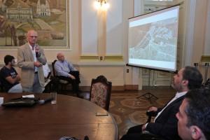 Turkienicz apresentou detalhes do estudo desenvolvido pela UFRGS Foto: Joel Vargas/PMPA