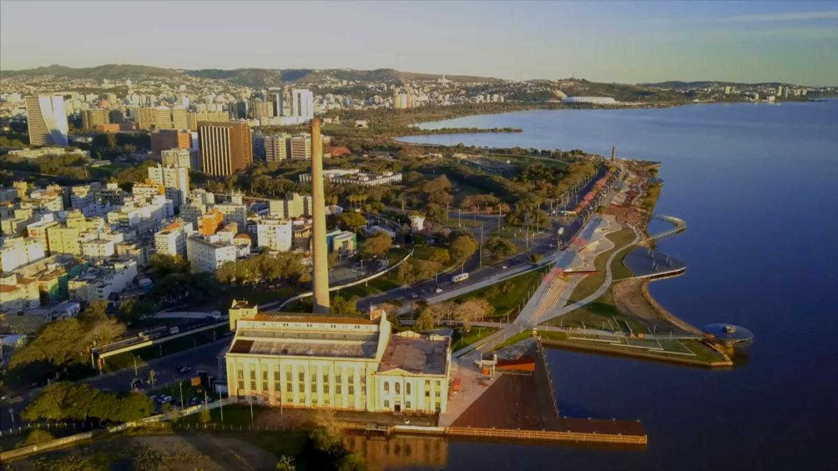 Vídeo: Centro de Porto Alegre