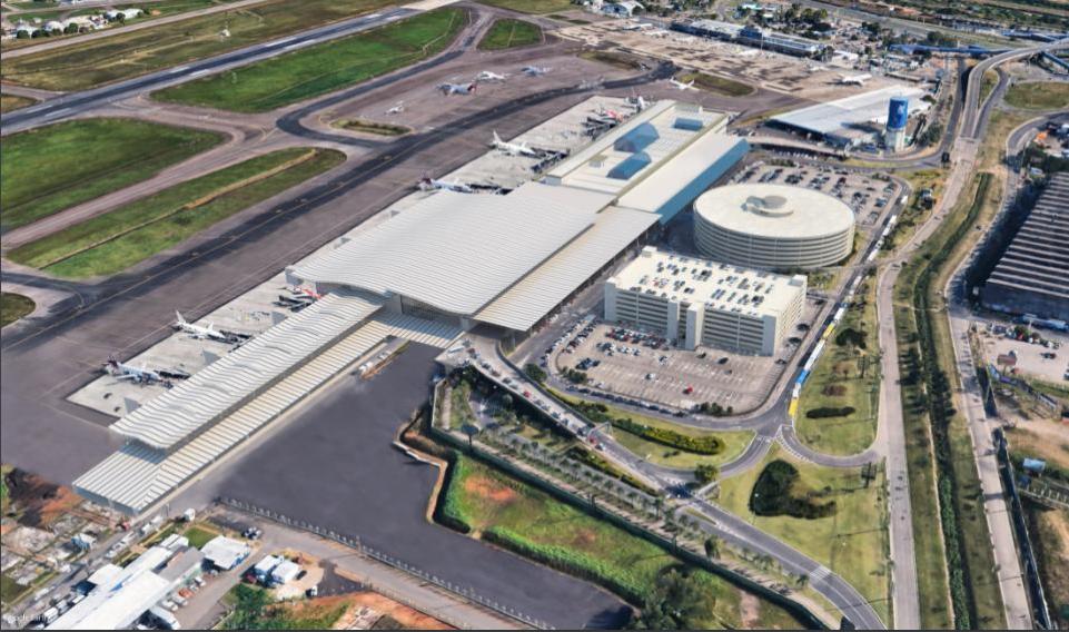 Fraport divulga imagens do projeto do novo Aeroporto Salgado Filho