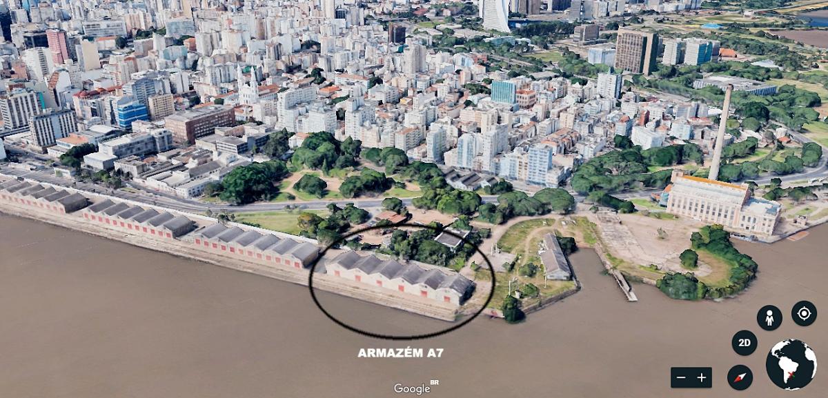Armazém A7 do Cais Mauá será derrubado até março