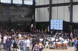 Porto Alegre, RS - 05.12.2017 Ato de assinatura e entrega de licença de instalação do projeto de revitalização do Cais Mauá ao empreendedor Cais Mauá do Brasil S.A. Local: Cais Mauá Foto: Brayan Martins/ PMPA