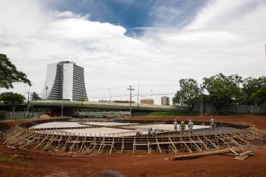 Porto Alegre, RS 14/12/2017 Atualização das obras do Largo dos Açorianos Fotos: Cesar Lopes/ PMPA