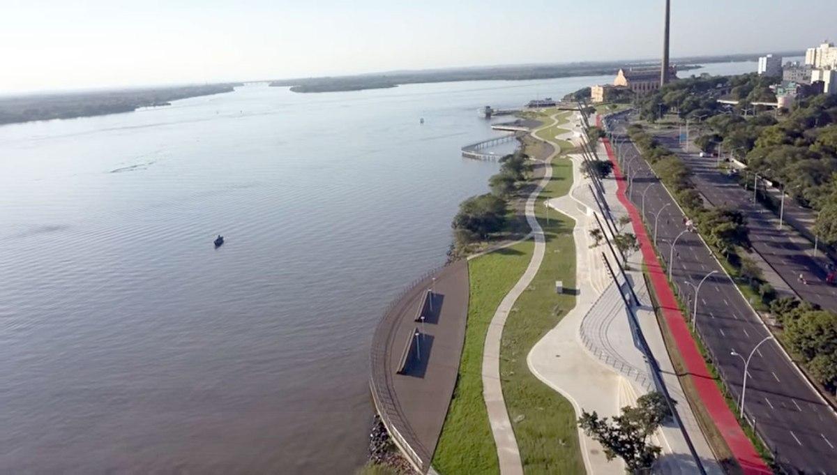 Vídeos: Parque da Orla - abril 2018 - aéreas