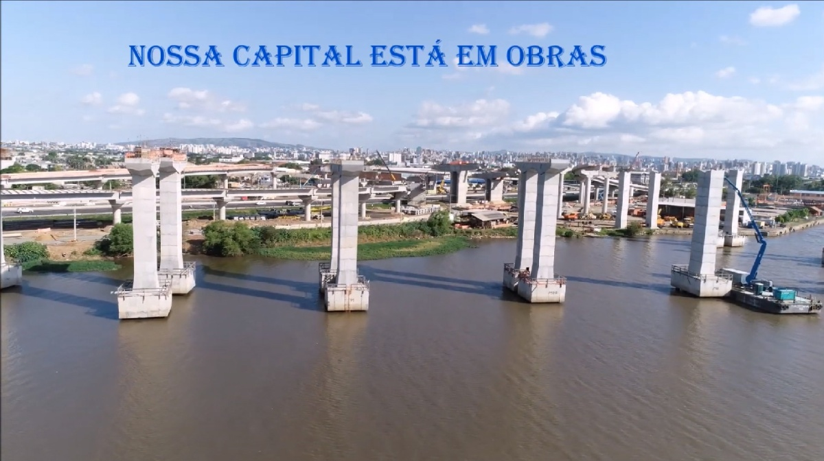 Vídeo: nova ponte do Guaíba