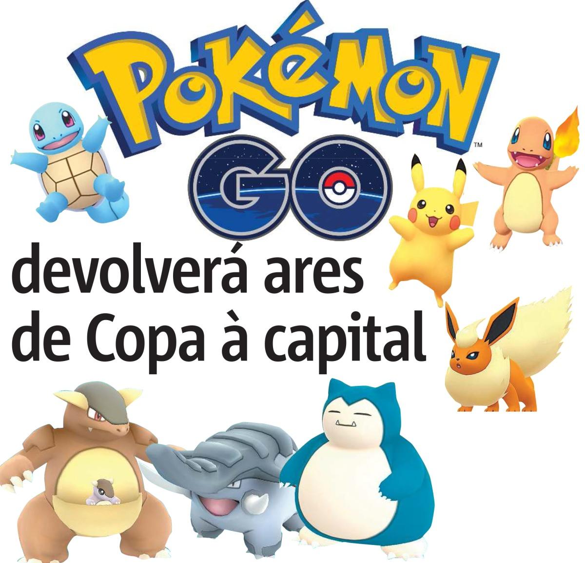 Pokemon GO devolverá ares de Copa a Porto Alegre